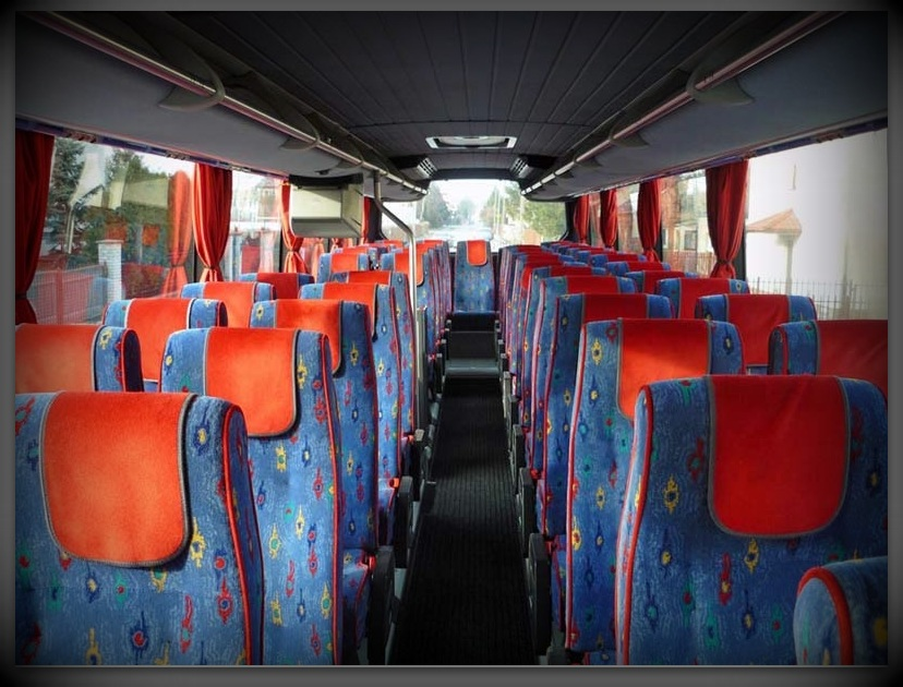Neoplan Transliner od środka