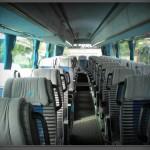 Wnętrze autokaru Scania Irizar
