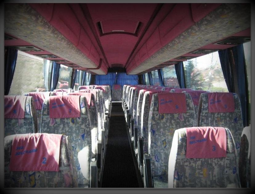 Wnętrze Scania Irizar K113
