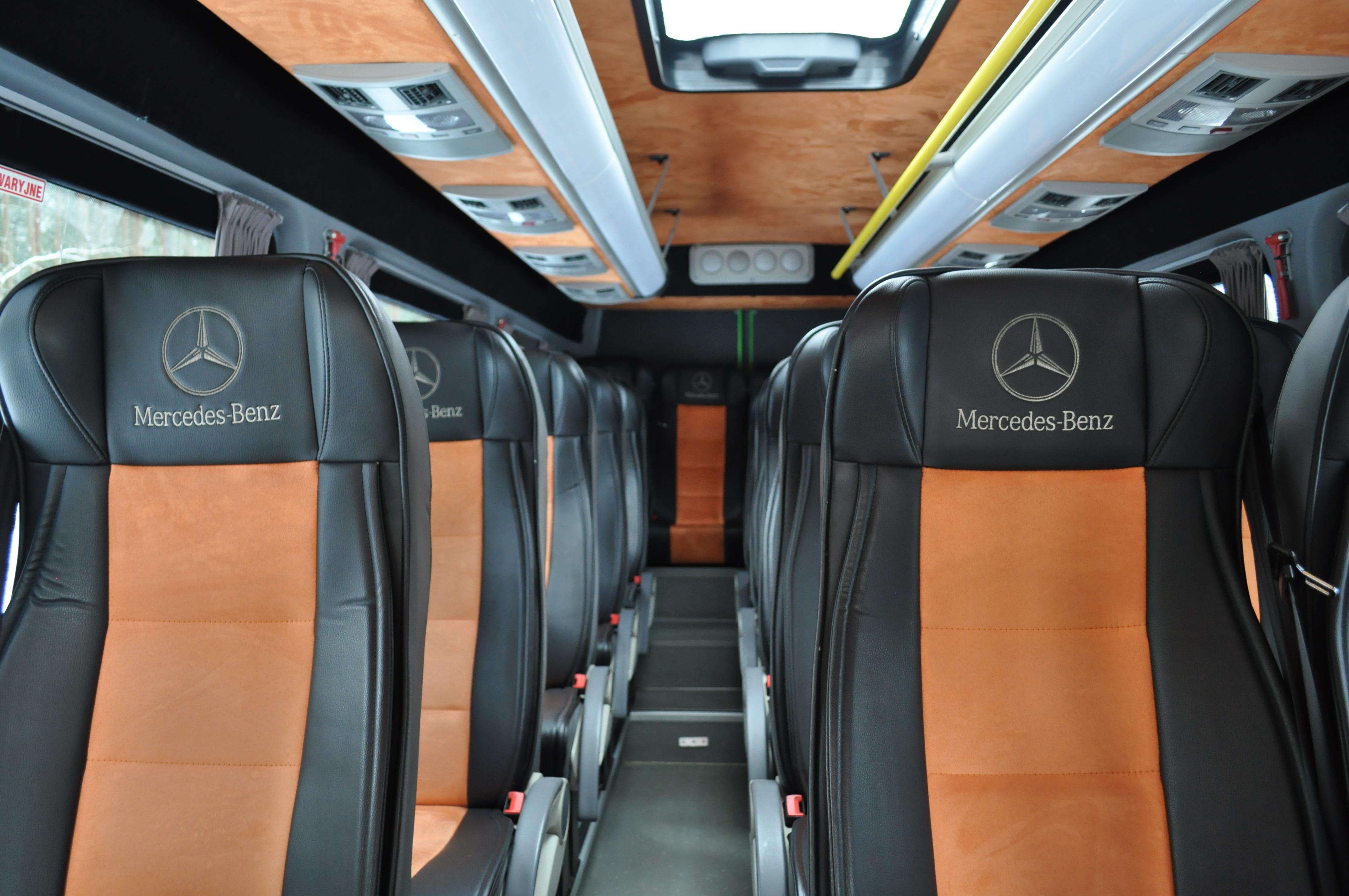 wnętrze Mercedes Sprinter VIP CLASS